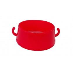 Anillo rojo conector de cadena para cono